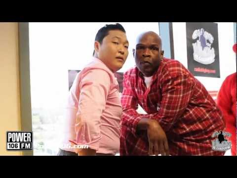 PSY - GANGNAM STYLE (강남스타일) M/V w/ Power 106 Big Boy's Neighborhood