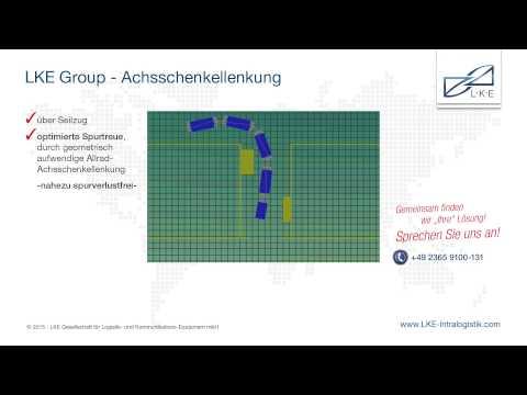 LKE Intralogistik - Achsschenkellenkung