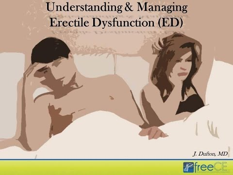 Understanding and Managing Erectile Dysfunction