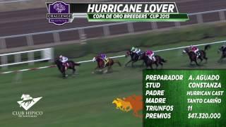 Caballo N°4 Hurricane Lover, Clásico Copa de Oro Breeders´Cup, Club Hípico de Santiago