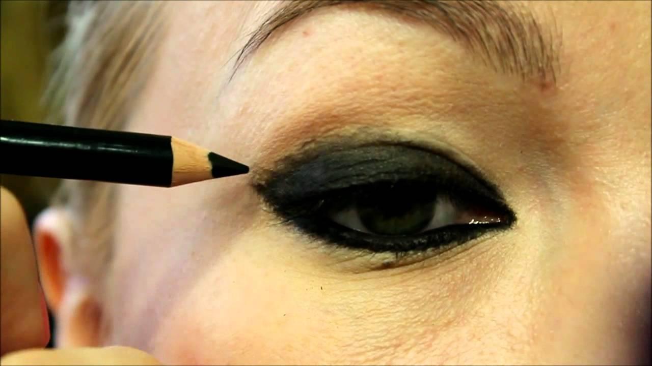 Как сделать макияж дымчатый видео фото 108