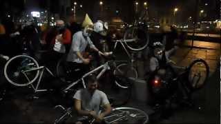 Harlem Shake biciclistic, Bucuresti