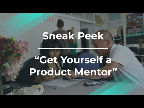 Sneak Peek: Get Yourself a Product Mentor by Originate PM