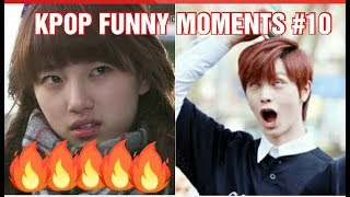 KPOP FUNNY MOMENTS PART 10 (TRY TO NOT LAUGH CHALLENGE)