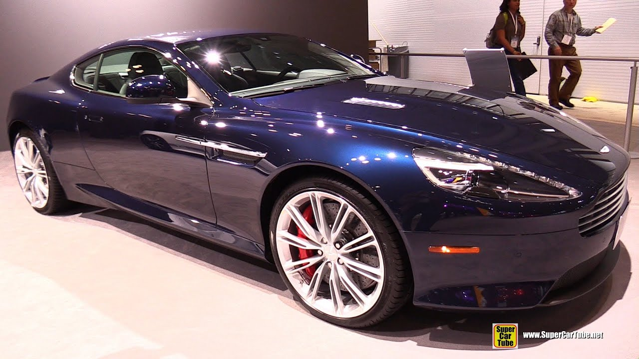 aston martin db9 interior 2015. 2015 aston martin db9 exterior and interior walkaround new york auto show youtube db9 t