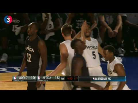 Top 5 Plays of the Day: NBA Africa Game 2017