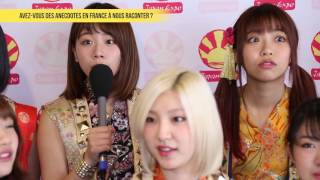L'interview de Cheeky Parade pendant Japan Expo 17e Impact ! Retrou...