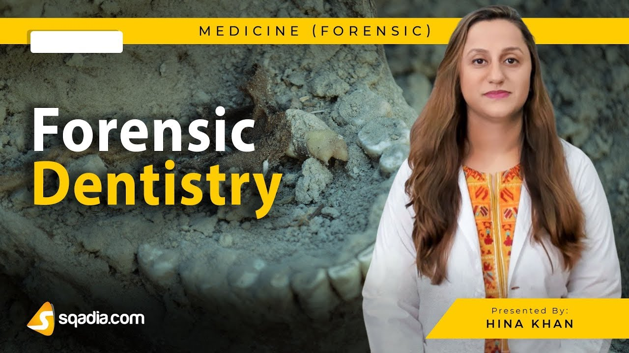 Forensic Dentistry Medicine Video Lecture Md V Learning Courses Sqadia Com Youtube