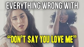 Everything Wrong With Fifth Harmony Don 39 t Say You Love Me.mp3