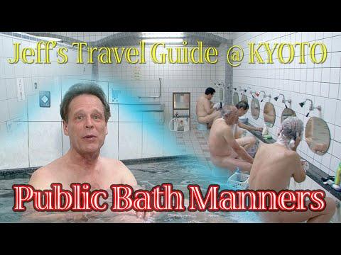 Public Bath Manners