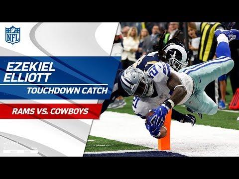 Ezekiel Elliott Leads Dallas Downfield on Huge TD Drive! | Rams vs. Cowboys | NFL Wk 4 Highlights