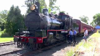 Mary Valley Steam Train
