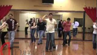 DF Dance Studio Bachata Team practicing in Salt Lake City.wmv