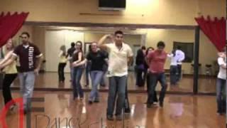 DF Dance Studio Bachata Team practicing in Salt Lake City.wmv