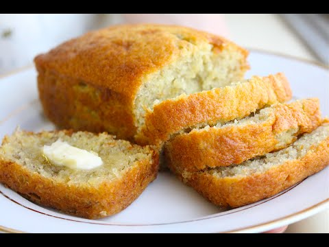 How to Make Banana Bread! So Soft and Chewy!