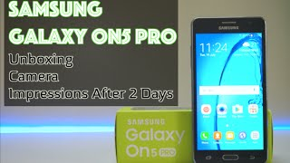 Samsung On5 Pro Unboxing, Camera & Honest Opinions After 2 Days!