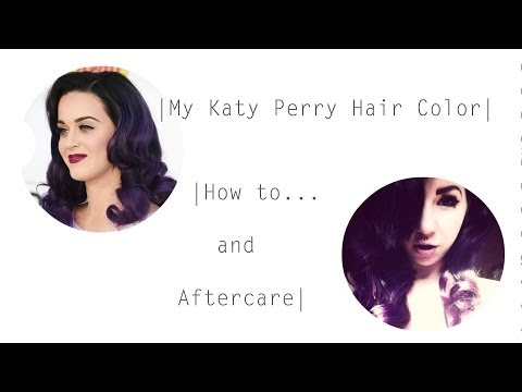 My Katy Perry Style Hair Color & Aftercare!