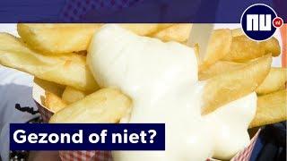 Patatje met vs kroket: Wat is de gezondste snack in de snackbar?