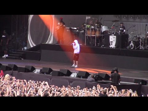 Eminem Bad Guy Live