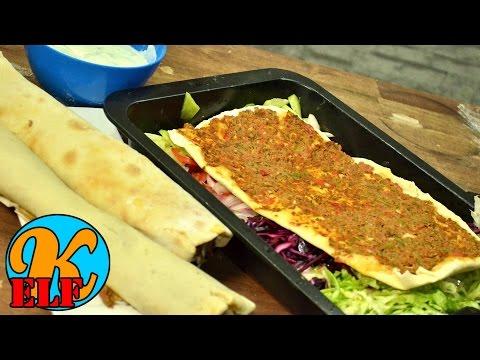 #171 Lahmacun oder türkische Pizza schnell und einfach selber machen | Kanal-ELF Rezepte