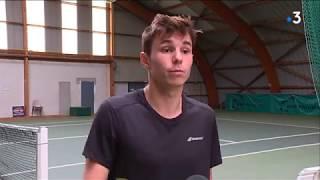Tennis : portrait de Samuel Brosset