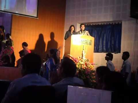 Velammal Engineering College My First.College Day Compering 2015. SANKALP 2K15.