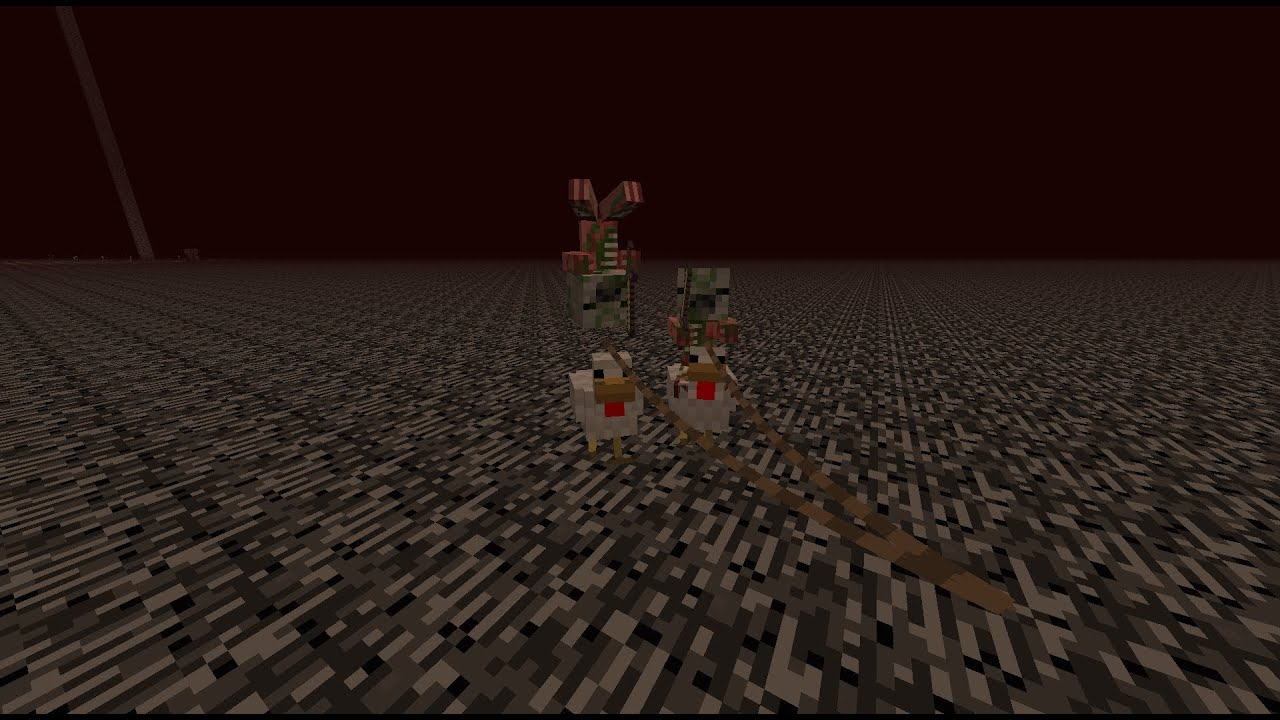 Minecraft Tutorial Zombie Pigman Chicken Jockey Youtube