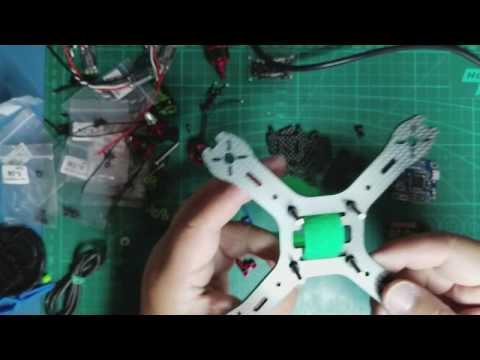HobbyMate X130 Mini Carbon Fiber Quadcopter Kit Review