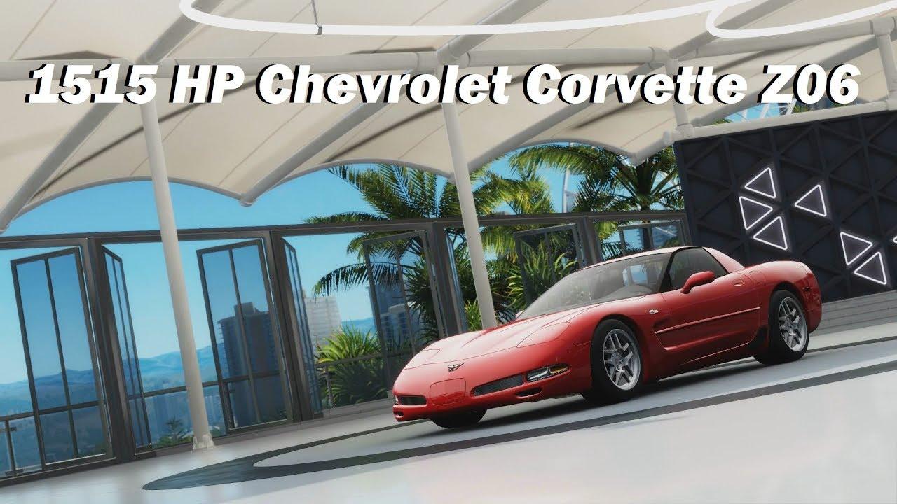 How Fast Will It Go 2002 Chevrolet Corvette Z06 Forza Horizon 3