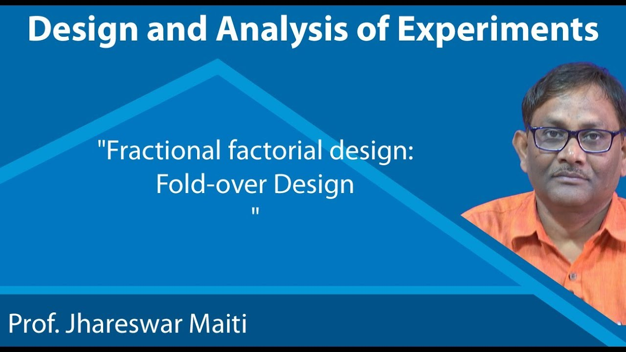 NPTEL :: Management - NOC:Design and Analysis of Experiments