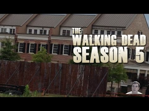The Walking Dead Season 5 - Alexandria Safe Zone First Look!