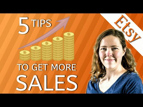 5 Ways for Growing Your Etsy Shop // How to Get More Traffic on Etsy
