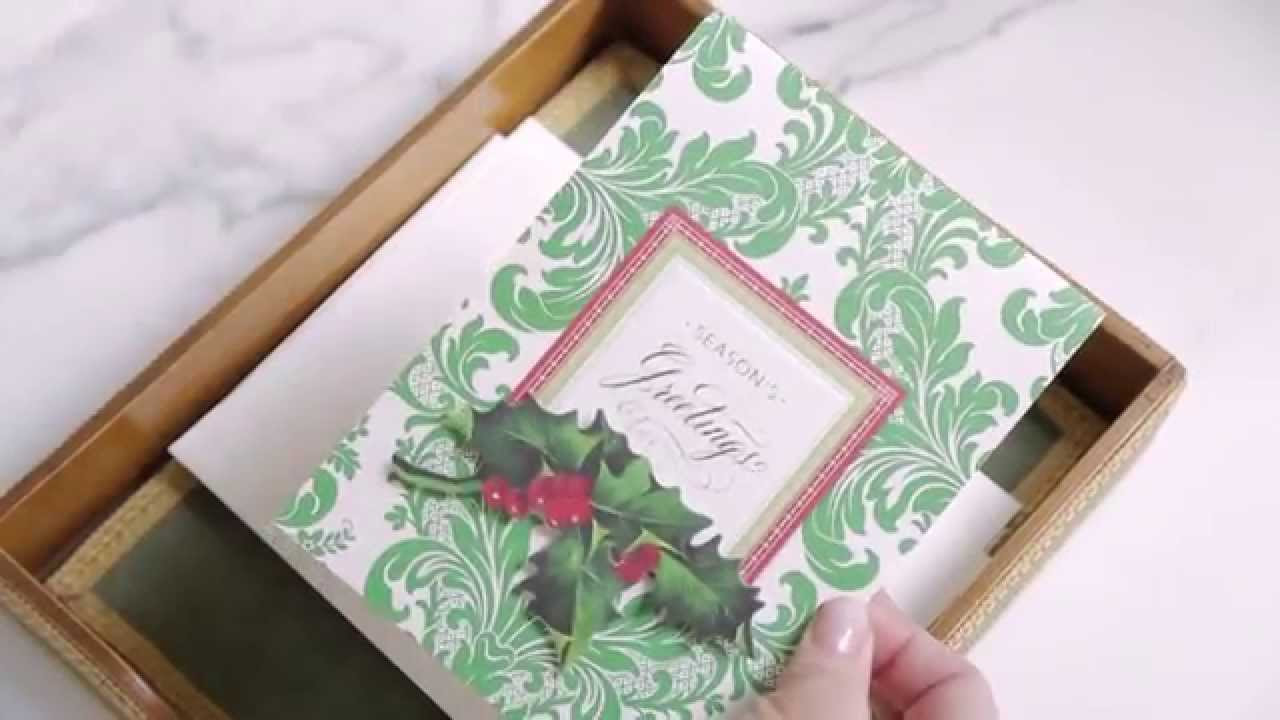 how to make a pop out christmas card