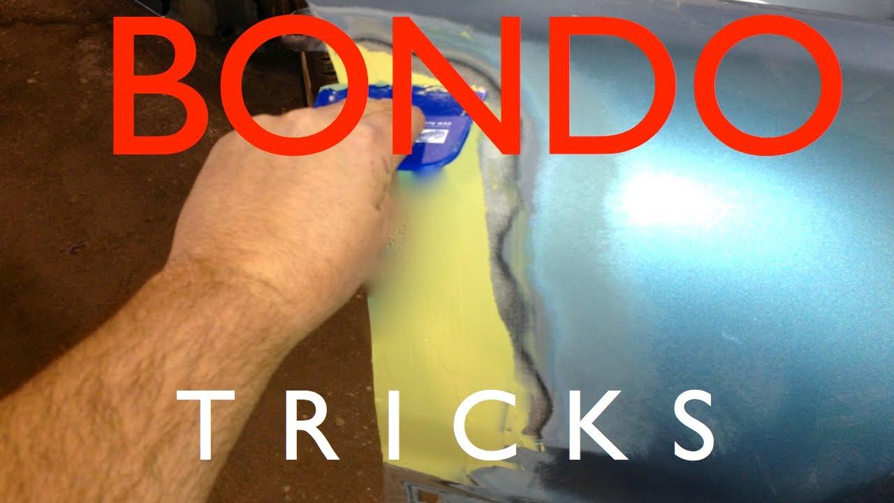 Diy How To Bondo Auto Body Repair Tips And Tricks To