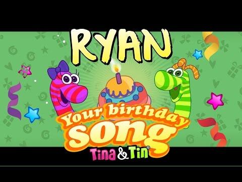 Tina&Tin Happy Birthday RYAN