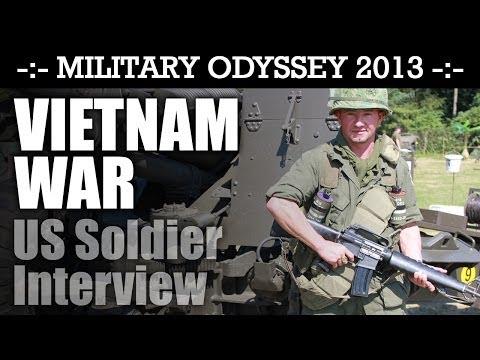 Vietnam War US Soldier Interview WHAT AN EXPERT! Military Odyssey 2013 | HD Video