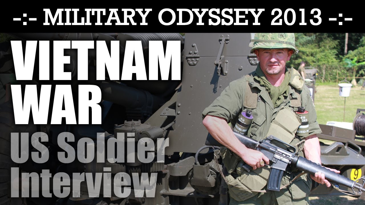 Vietnam War US Soldier Interview WHAT AN EXPERT! Military Odyssey 2013 | HD  Video