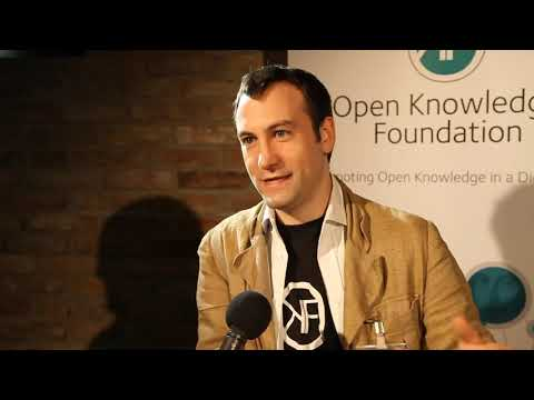 Interview with Rufus Pollock   Cofounder Open knowledge Foundation