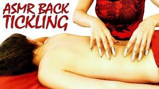 Ultimate ASMR Back Tickling, Back Tracing & Massage Videos, Binaural Whisper Skin Sounds