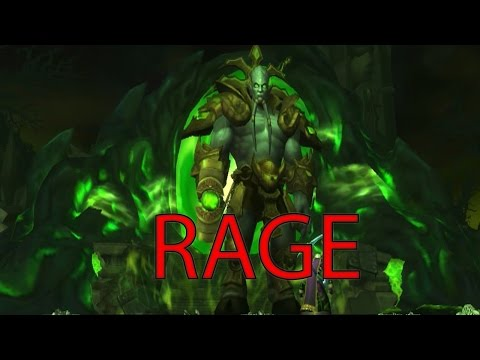 World of Warcraft WOW -  Mage RAGE! From Heroic Archimonde.