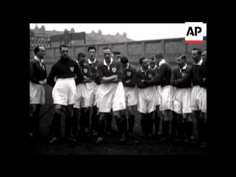 Movietone Interview With Cup Final Teams - Arsenal At Highbury
