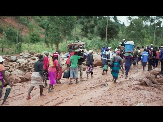 Relief Starts Arriving for Mozambique