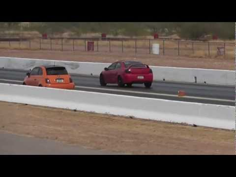 srt 4 vs fiat? import face off 2012