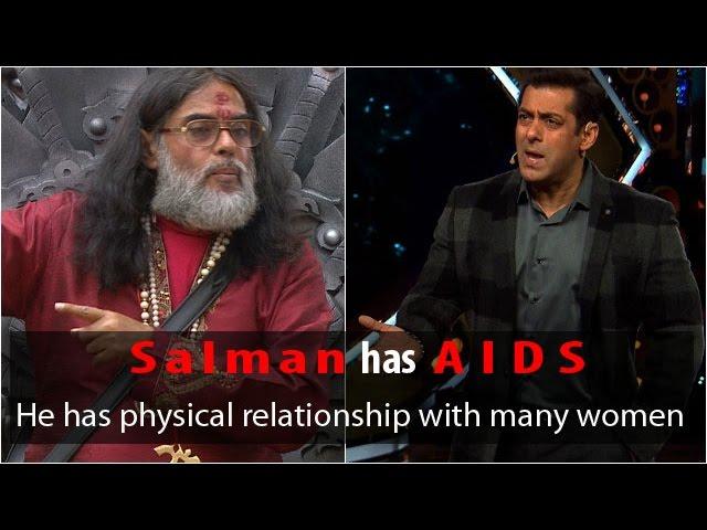 Salman Khan isn't getting married because he has AIDS: Swami Om
