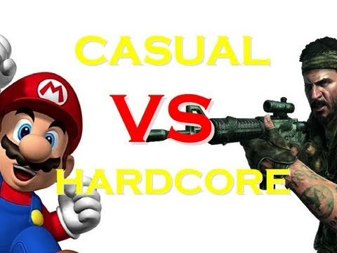 CASUAL GAMERS vs HARDCORE GAMERS