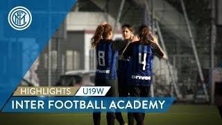 HIGHLIGHTS INTER WOMEN PRIMAVERA: A 10-0 WIN! | Inter Football Academy