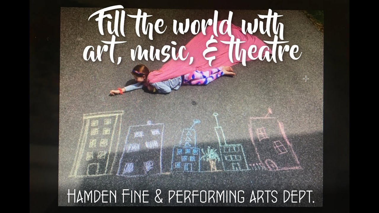 (Via NewHavenArts) Hamden Fine & Performing Arts Department: What a Wonderful World
