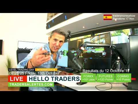 Hello Traders emission du 13 Octobre 17