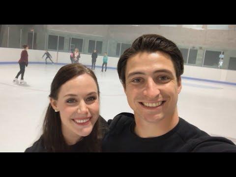 Tessa & Scott Spread Some Cheer #BeTheCheer