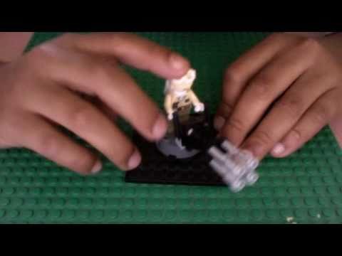 Lego brickfilm l 39 homme qui ne voulait pas parler doovi - Comment faire une ville lego city ...